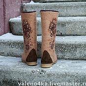 """Обувь ручной работы. Ярмарка Мастеров - ручная работа """"Капучино"""". Handmade."""