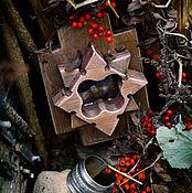 """Для дома и интерьера ручной работы. Ярмарка Мастеров - ручная работа Пиратское зеркало """"Роза ветров"""". Handmade."""