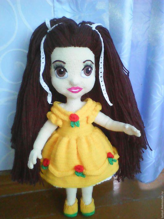 Человечки ручной работы. Ярмарка Мастеров - ручная работа. Купить Кукла Юляша. Handmade. Коричневый, кукла ручной работы, синтепон