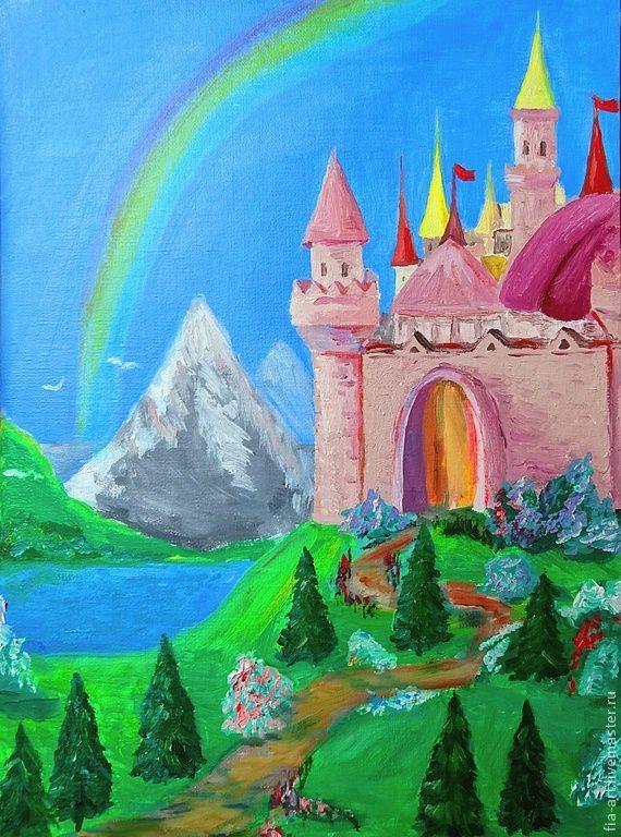 стол открытки замка прекрасен