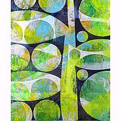 """Картины и панно ручной работы. Ярмарка Мастеров - ручная работа """"Растительный мотив"""" (триптих). Handmade."""