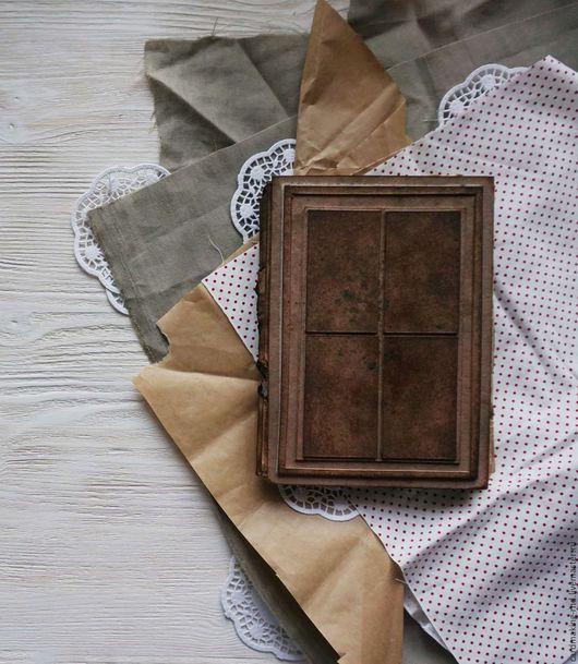"""Блокноты ручной работы. Ярмарка Мастеров - ручная работа. Купить Блокнот или книга пожеланий """"Старая книга"""". Handmade. Разноцветный"""