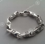 handmade. Livemaster - original item Oberezhny bracelet 8.5 mm (2). Handmade.