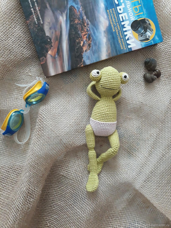 Лягуха, Мягкие игрушки, Челябинск,  Фото №1