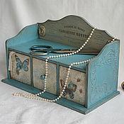 Для дома и интерьера ручной работы. Ярмарка Мастеров - ручная работа Комодик французской модистки. Handmade.
