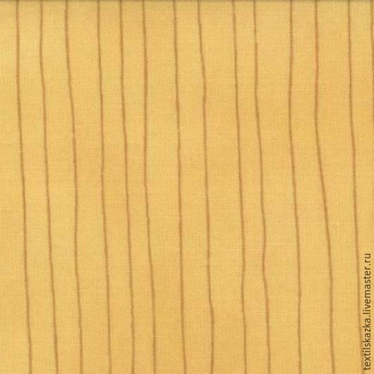 Шитье ручной работы. Ярмарка Мастеров - ручная работа. Купить Ткань 6044-14. Handmade. Желтый, лоскутное шитье