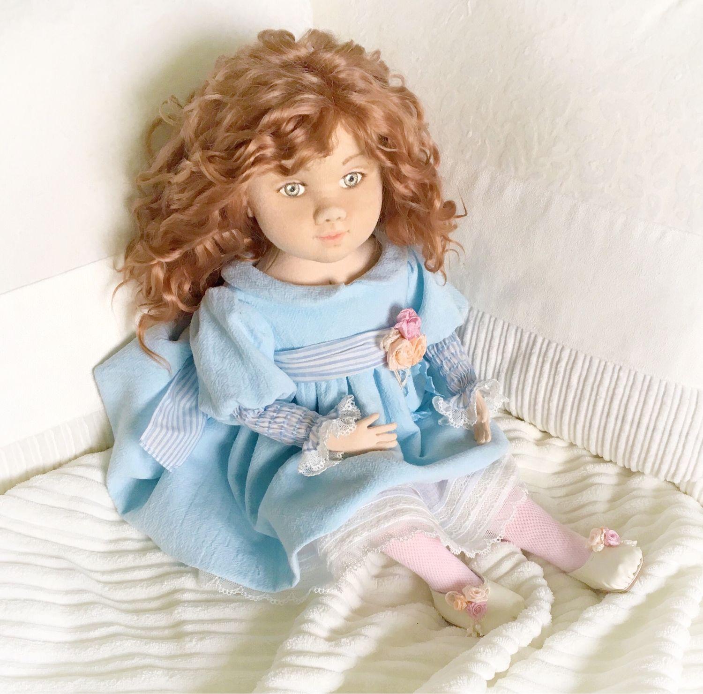 Интерьерная авторская текстильная кукла. Злата, Куклы и пупсы, Москва,  Фото №1