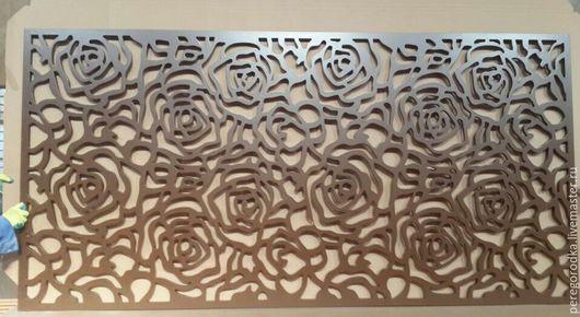 Мебель ручной работы. Ярмарка Мастеров - ручная работа. Купить Декоративные перегородки из ламинированного мдф 10 мм. Handmade. из дерева