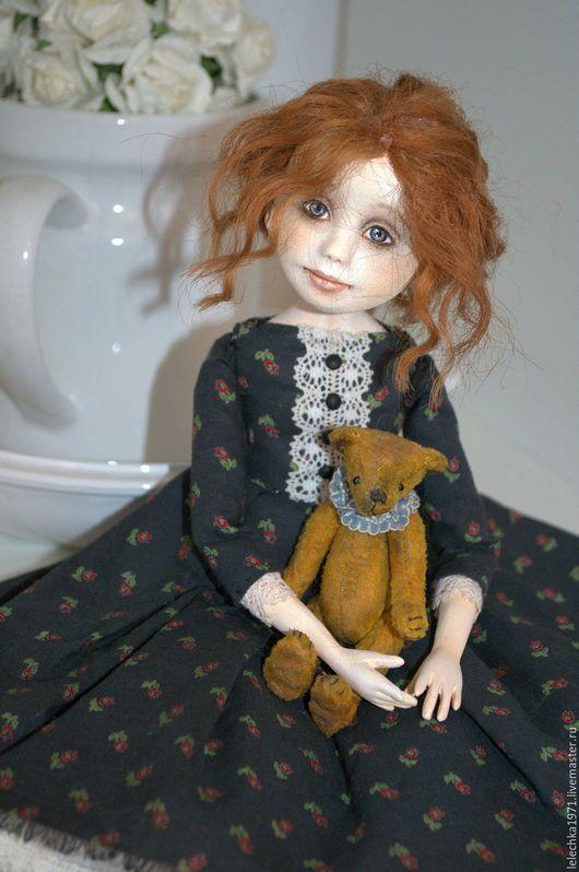 Коллекционные куклы ручной работы. Ярмарка Мастеров - ручная работа. Купить Варечка. Handmade. Комбинированный, doll art, проволока
