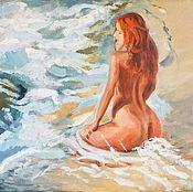 Картины и панно ручной работы. Ярмарка Мастеров - ручная работа Пена морская. Handmade.