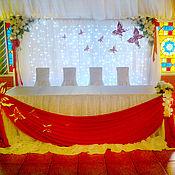 Свадебный салон ручной работы. Ярмарка Мастеров - ручная работа Оформление свадебного зала. Handmade.