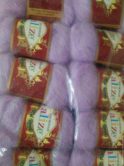 Вязание ручной работы. Ярмарка Мастеров - ручная работа. Купить Пряжа KID ROYAL 62% кид мохер 38% полиамид. Handmade.