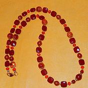 Украшения ручной работы. Ярмарка Мастеров - ручная работа Бусы, браслет (двойной). Handmade.