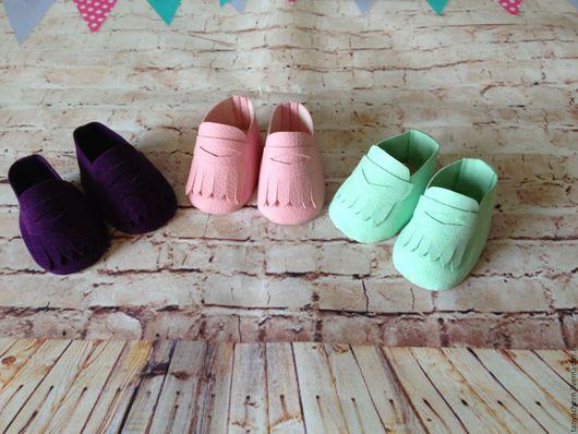 Куклы и игрушки ручной работы. Ярмарка Мастеров - ручная работа. Купить Выкройка ботиночек, сапожек и макасин для куклы. Handmade.