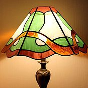 Для дома и интерьера handmade. Livemaster - original item Stained Glass Lamp Spring Waltz. Handmade.