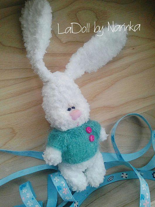 Мишки Тедди ручной работы. Ярмарка Мастеров - ручная работа. Купить Кролик. Handmade. Кролик, вязаный, тедди, заяц тедди