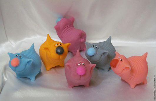 """Мыло ручной работы. Ярмарка Мастеров - ручная работа. Купить Мыло сувенирное """"Мартовский кот"""".. Handmade. Комбинированный, кот в подарок"""