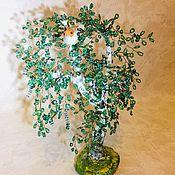 Деревья ручной работы. Ярмарка Мастеров - ручная работа Берёзы из бисера. Handmade.