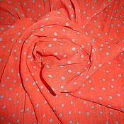 Материалы для творчества ручной работы. Ярмарка Мастеров - ручная работа Отрез ткани, шифон, 210х135см. Handmade.