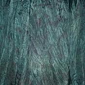 """Аксессуары ручной работы. Ярмарка Мастеров - ручная работа Палантин и парео."""" Изумрудная фиерия"""". Handmade."""