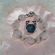 Фен-шуй и эзотерика handmade. Livemaster - original item Mascots: APHRODITE RING WITH BLUE AGATE. Handmade.