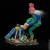 """Куклы и игрушки ручной работы. Ярмарка Мастеров - ручная работа """"Видала я ваш Эльбрус в белых валенках!"""")). Handmade."""