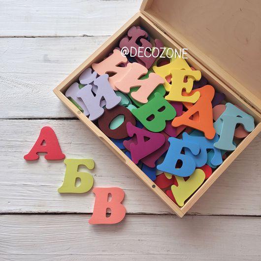 Развивающие игрушки ручной работы. Ярмарка Мастеров - ручная работа. Купить Буквы из дерева. Алфавит. Handmade. Алфавит, азбука, для детей