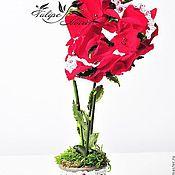 Наборы ручной работы. Ярмарка Мастеров - ручная работа Подарок из стабилизированных цветов. Handmade.