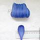 Лепестки синие закругленные большие My Thai Материалы для флористики из Таиланда