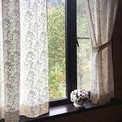 Для дома и интерьера handmade. Livemaster - original item Tulle from a linen veil