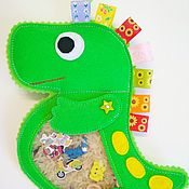 Куклы и игрушки handmade. Livemaster - original item Isoloci Dinosaur. Handmade.