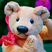 Куклы и игрушки ручной работы. Ярмарка Мастеров - ручная работа Маргарет ( классический мишка Тедди, выкройка 1900 года). Handmade.