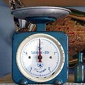 Винтаж handmade. Livemaster - original item Soviet vintage kitchen scales. Handmade.