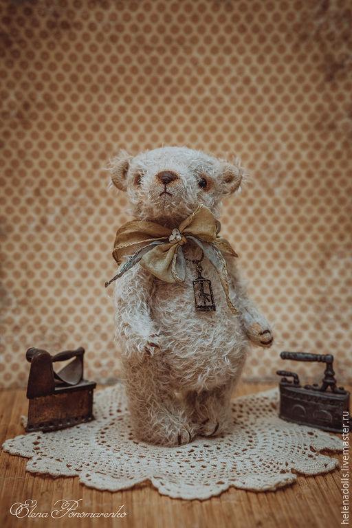 Мишки Тедди ручной работы. Ярмарка Мастеров - ручная работа. Купить Баффи.. Handmade. Морская волна, мишка ручной работы