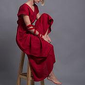 Платья ручной работы. Ярмарка Мастеров - ручная работа Красное Платье EVA с открытой спиной - 23 расцветки. Handmade.