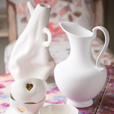 Посуда ручной работы. Ярмарка Мастеров - ручная работа Идеальная семья. Handmade.