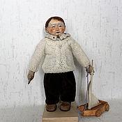 Куклы и игрушки ручной работы. Ярмарка Мастеров - ручная работа Санечка. Текстильная кукла.. Handmade.