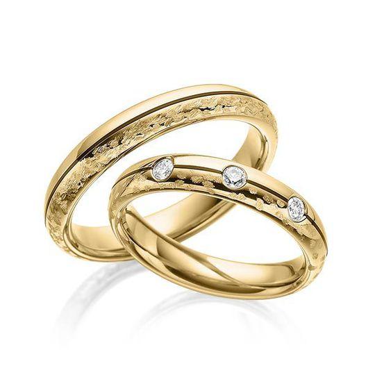 Свадебные украшения ручной работы. Ярмарка Мастеров - ручная работа. Купить Обручальные кольца Modern 47-029 NEW. Handmade.