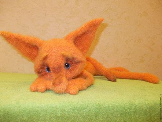 """Игрушки животные, ручной работы. Ярмарка Мастеров - ручная работа. Купить """"Одинокий Лис"""". Handmade. Рыжий, лисичка, игрушка для ребенка"""