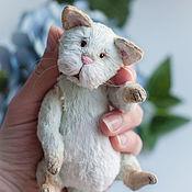 Куклы и игрушки ручной работы. Ярмарка Мастеров - ручная работа Мятный котик. Handmade.