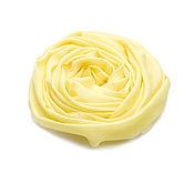 Аксессуары ручной работы. Ярмарка Мастеров - ручная работа Палантин из кашемира лимонного оттенка. Handmade.