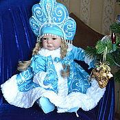 Куклы и игрушки ручной работы. Ярмарка Мастеров - ручная работа Снегурочка-зимняя красавица. Handmade.