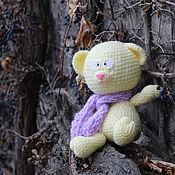 Куклы и игрушки ручной работы. Ярмарка Мастеров - ручная работа Жёлтый мишка. Handmade.
