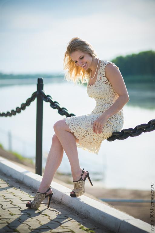 Платья ручной работы. Ярмарка Мастеров - ручная работа. Купить Платье  RESPпублика. Handmade. Белый, платье вечернее, белое платье
