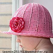 """Работы для детей, ручной работы. Ярмарка Мастеров - ручная работа Панамка """"Розовый десерт"""". Handmade."""