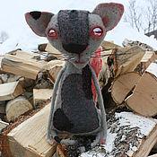 Куклы и игрушки ручной работы. Ярмарка Мастеров - ручная работа Охранная кошка. Handmade.