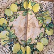 Салфетка Лимоны