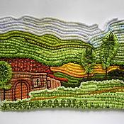 """Картины и панно ручной работы. Ярмарка Мастеров - ручная работа декоративное панно """"Пейзаж"""". Handmade."""