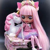 Кастом ручной работы. Ярмарка Мастеров - ручная работа Кукла Blythe Блайз -куколка Ариэлла. Handmade.