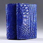 Сумки и аксессуары handmade. Livemaster - original item Wallet crocodile leather IMA0123C5. Handmade.